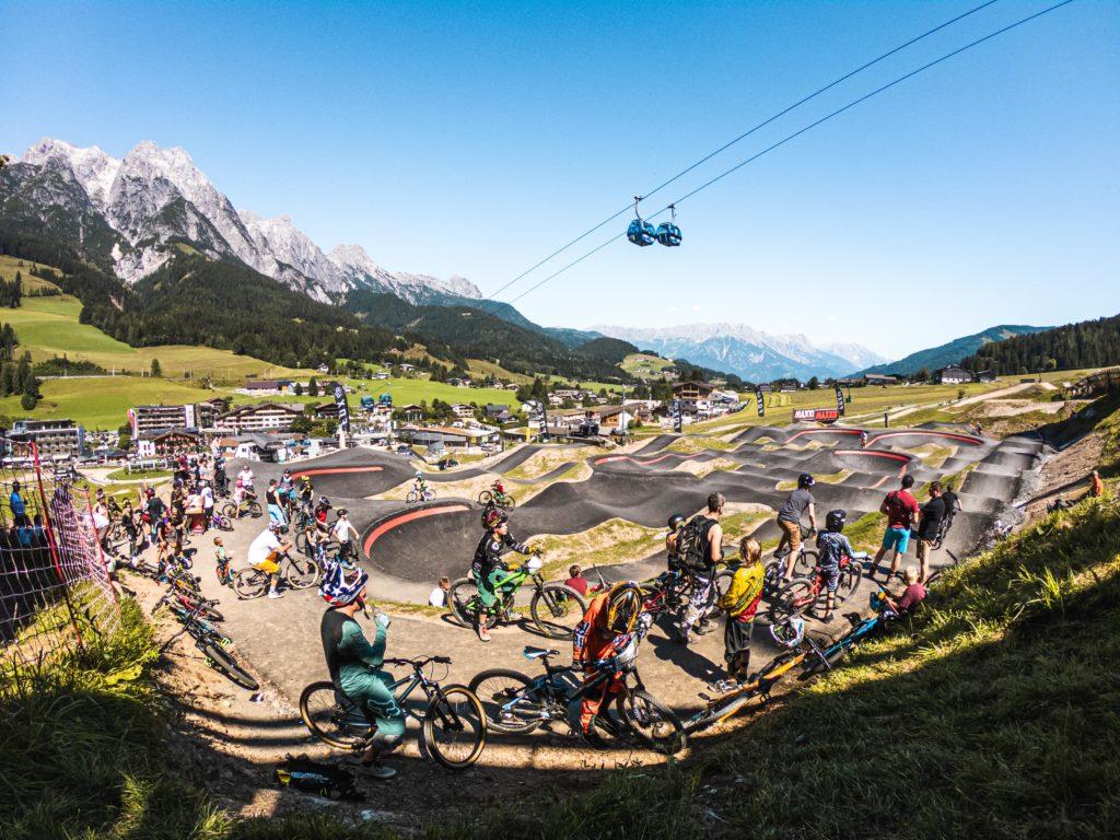 Pumptrack Epic Bikepark Leogang ©Michael Geißler