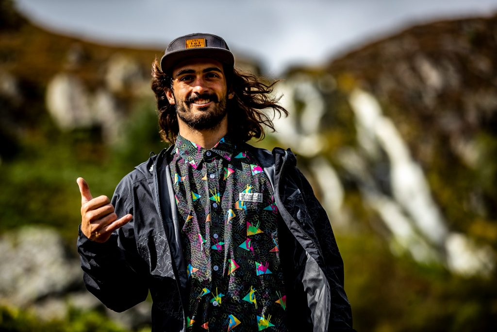 Johny Salido nach Red Bull Hardline 2019 im Portrait